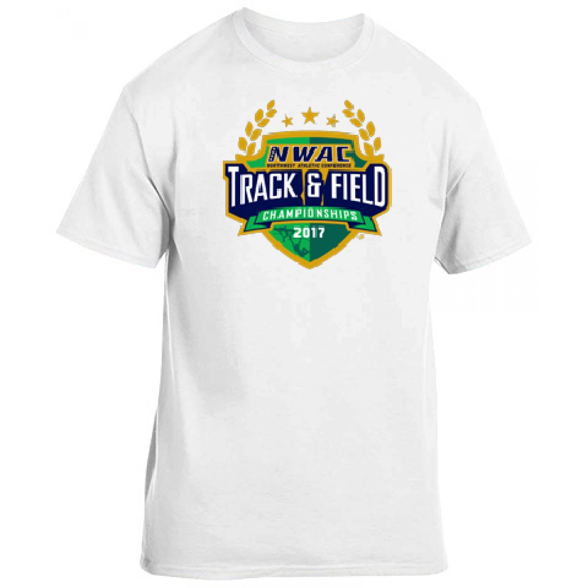 National Guard NWAC T&F T-shirt-White-YL