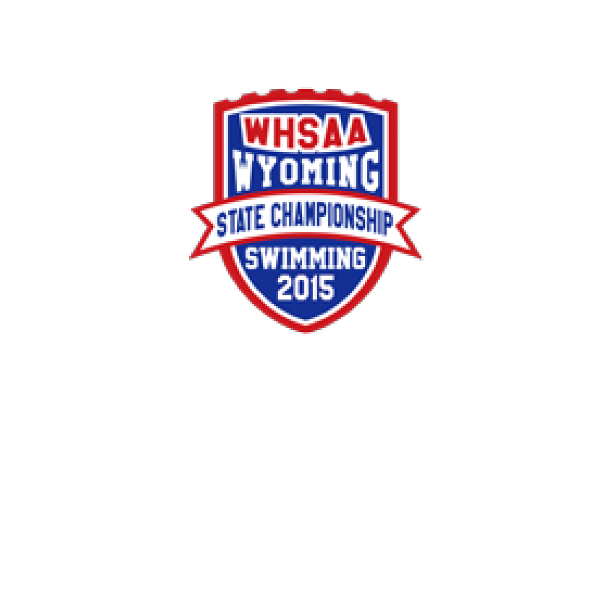 2015 WHSAA Swimming State Patch