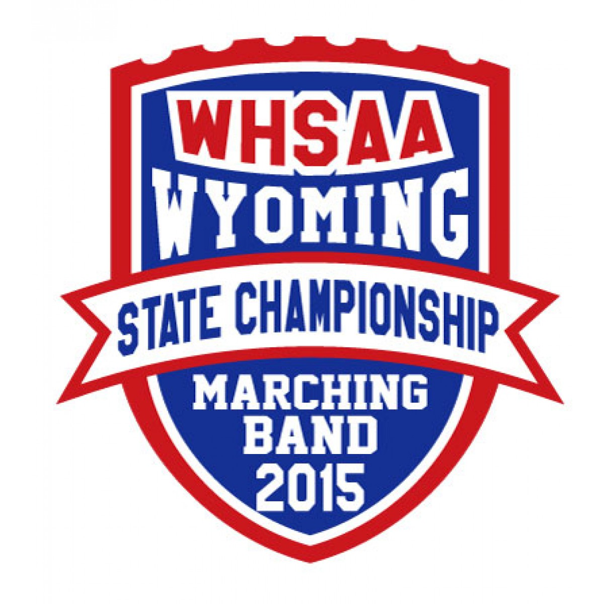 2015 WHSAA Marching Band State Patch