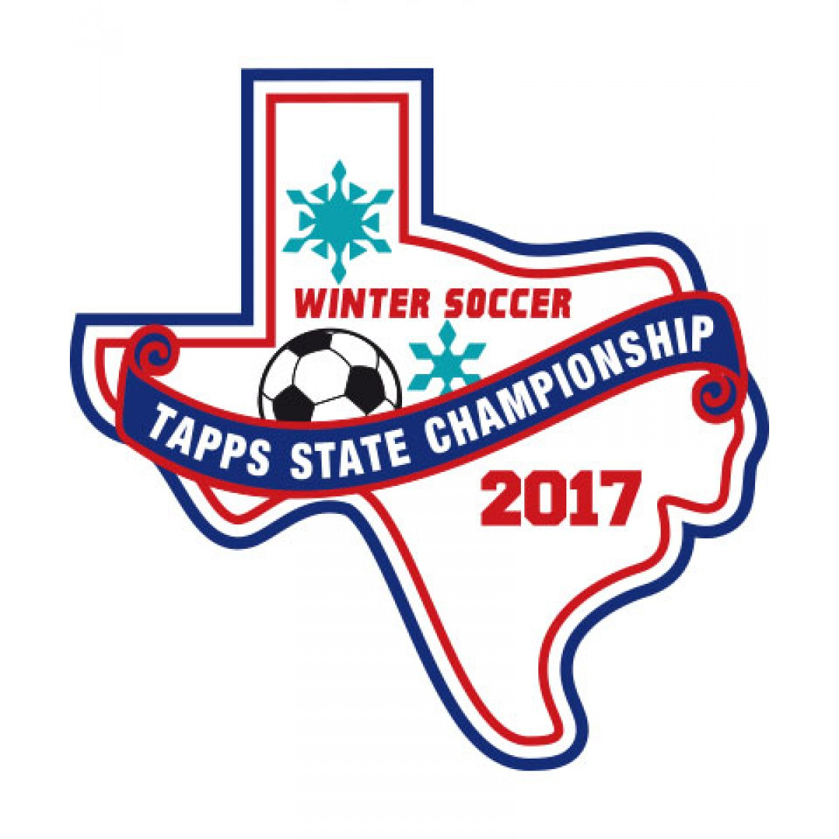 Felt 2017 TAPPS Winter Soccer State Patch