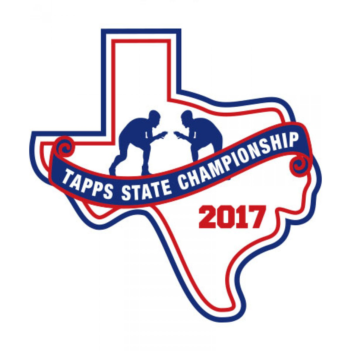 Felt 2017 TAPPS Wrestling State Patch