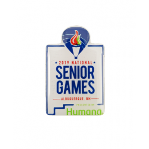 2019 National Senior Games Pin