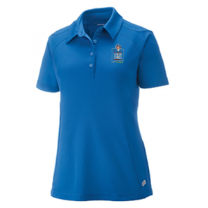 2019 Embroidered Ladies Performance Polo NAUTICAL BLUE