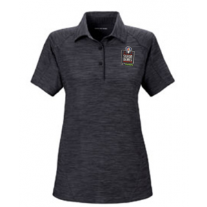 2019 Embroidered Performance Stretch Polo Carbon