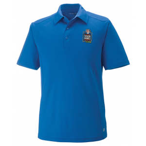 2019 Embroidered Performance Polo Nautical Blue