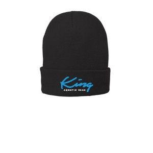 Embroidered Port & Company® Fleece-Lined Knit Cap One Size Fits Most