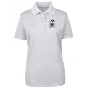 Embroidered Ladies' Performance Piqué Polo