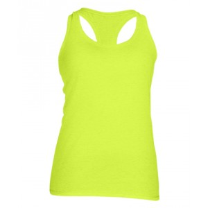 Ladies' Performance Racerback Tank (Colors: Safety Green, Safety Pink)