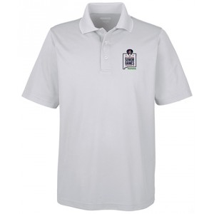 Embroidered Men's Performance Piqué Polo
