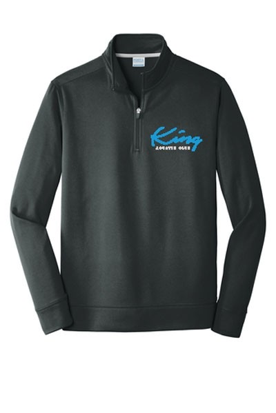 Embroidered Port & Company® Performance Fleece 1/4-Zip Pullover Sweatshirt
