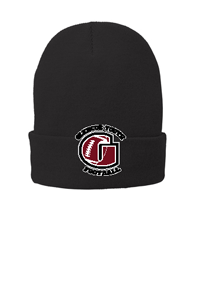 Embroidered G Only Port & Company® Fleece-Lined Knit Cap One Size Fits All