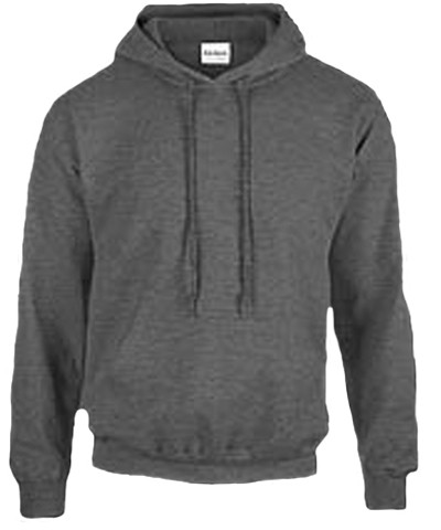 Cotton Hoody / Dark Heather