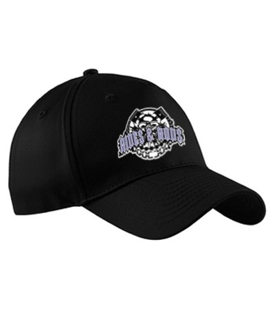 Rides and Rods embroidered hat (black)
