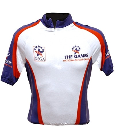 Senior Games Cycling Jersey
