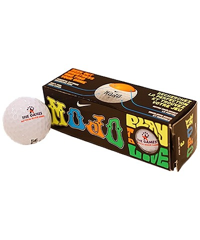 Set of 3 Senior Games Golf Balls
