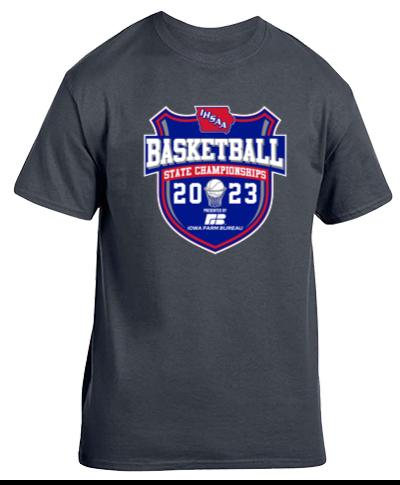 Cotton Short Sleeve T-Shirt / Dark Heather