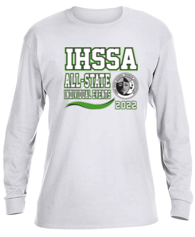 Cotton Long Sleeve T-Shirt / White